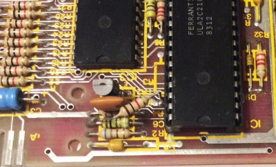 Extra 1k ohm resistor on an issue 3 board